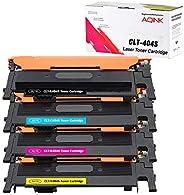 AQINK 4-Pack Compatible 404S CLT K404S P404C CLT-K404S CLT-C404S CLT-M404S CLT-Y404S Toner Cartridge for Samsu