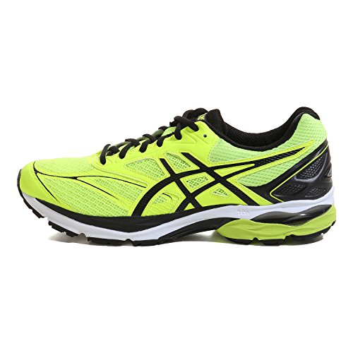Asics Herren Gel-Pulse 8 Laufschuhe, UK safety yellow-black-onyx