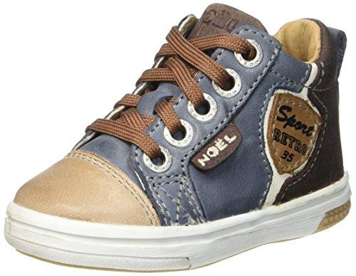8556eb636c Noël Mini Mick, Chaussures Premiers Pas Bébé garçon, Bleu (10 Denim/Marron