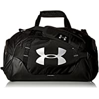 Under Armour, Ua Undeniable Duffle 3.0, Borsone, Unisex - Adulto, Nero (Black/Black/Silver 001), M