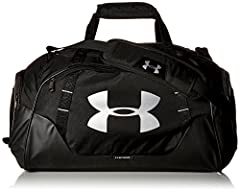 Idea Regalo - Under Armour, Ua Undeniable Duffle 3.0, Borsone, Unisex - Adulto, Nero (Black/Black/Silver 001), L