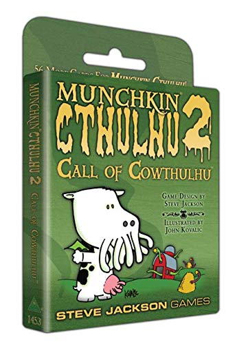 Edge Entertainment- Munchkin Cthulhu 2- español. (Edge entertaiment 332169)