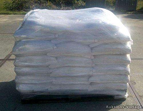 1 Tonne hochwertiges Streusalz / Auftausalz a 25 kg Säcke Winterdienst Glatteis Salz