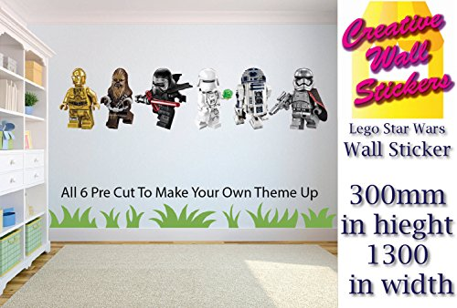 Lego Wall Stickers Star Wars 6 Childrenu0027s Bedroom Wall Decal Mural.   Buy  Online In KSA. Products In Saudi Arabia. See Prices, Reviews And Free  Delivery In ...