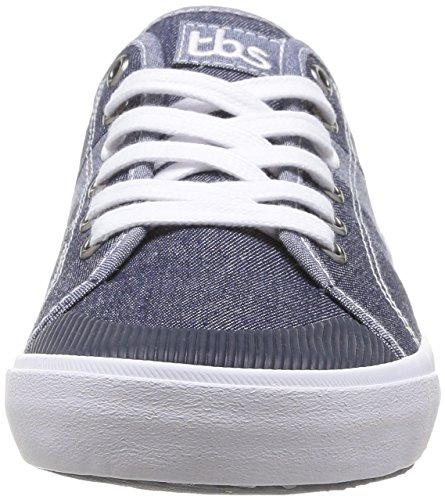 Tbs Henley Herren Blue Sneaker (jeans Scuri)