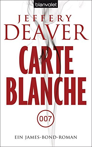 Carte Blanche Ein James Bond Roman