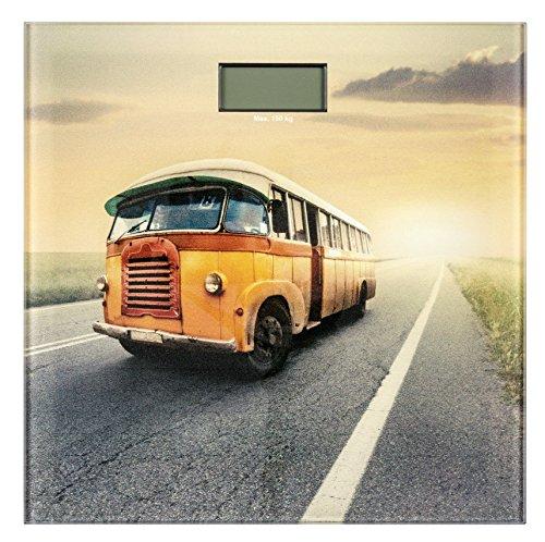 Wenko 21592100 Badwaage Vintage Bus LCD-Display