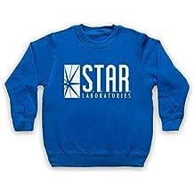 The Flash Star Laboratories Niños Sudadera