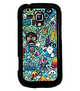 PRINTSWAG CARTOONS Designer Back Cover Case for SAMSUNG GALAXY S DUOS S7562