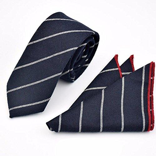 XZLP99 Tie Pocket Towel Set Men'S Korean Cotton High-Quality Suits Fabric Business Suits Tie