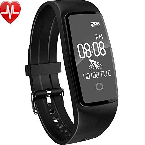 Willful - con monitor de ritmo cardíaco, monitor de sueño y notificaciones de mensajes