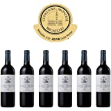 CHATEAU LA TOUR CORDOUAN - 2015-6 bouteilles - Vin Rouge AOP Medoc Bordeaux - 6 bottles Pack - Gold Medal in Brussels 2018