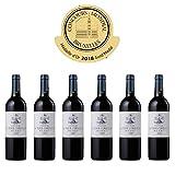 CHATEAU LA TOUR CORDOUAN - 2015-6 bouteilles - Vin Rouge AOP Medoc Bordeaux - 6 bottles Pack - Gold Medal in Brussels 2018