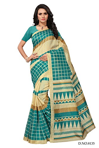 ANNI DESIGNER Cotton Saree with Blouse Piece (ADS1...