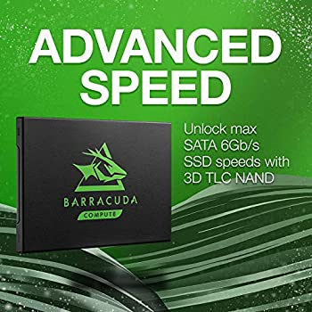 Seagate Barracuda 120 SSD, 2 TB Internal SATA 6, 35 cm (2.5 inch), SATA 6Gb/s, up to 560 MB/s, Black Modelnumber: ZA2000CM1A003