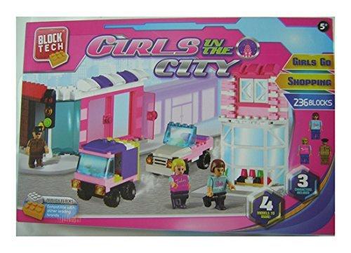 Block Tech Girls in the City - Girls Go Shopping - 236 Blocks