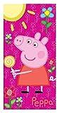 Lisciani Giochi - Telo Mare Peppa Pig, Fucsia