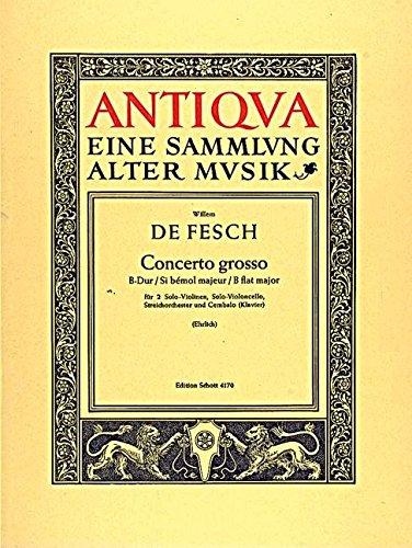 Concerto Grosso Bes 2v/Vcl/Strei