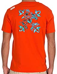Tee Shirt MC Col Rond Trulo Flamboyant - Oxbow