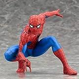 RLJqwad Marvel Toys Statue Spiderman de Super-héros Marvel Heroes Statue Spiderman 14.5cm Spiderman