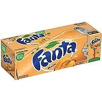 Fanta Refresco con Gas, Sabor Melocotón - Paquete de 12 x 355 ml - Total: 4260 ml