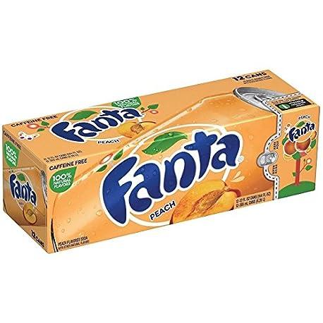 Fanta Refresco con Gas Sabor Melocot n Paquete de 12 x 355 ml Total 4260 ml