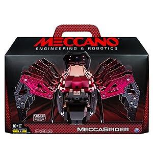 Meccano MeccaSpider Juego de construcción de animales 291pieza(s) - juegos de construcción (Juego de construcción de animales, 10 año(s), 291 pieza(s), Negro, Gris, Rojo, 1,36 kg, 500,4 mm)