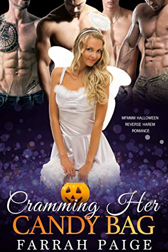 Cramming Her Candy Bag: MFMMM Halloween Reverse Harem Romance (English Edition)
