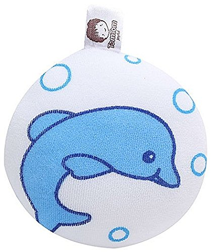 Baby Bucket Baby Bucket Tom Tom high quality super soft infant bath sponge baby bath lovely Dolphin Fish design soft newborn super cute cotton body shower cleaning comfortable shower baby care