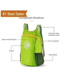SHOPNOW Lightweight Foldable Waterproof Women Men Skin Pack Backpack Travel Outdoor Sports Camping Hiking Bag,...