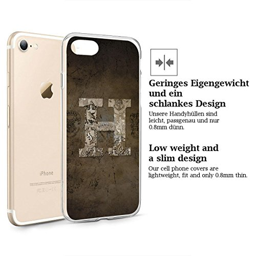 Harry Potter All Serie Silicone Iphone - Case Logo, Iphone 7 Hogwarts