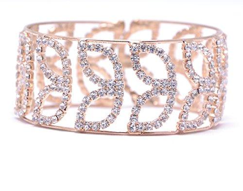Lady Touch American Diamond Gold Stylish Adjustable Bracelet For Girls & Women_Free...