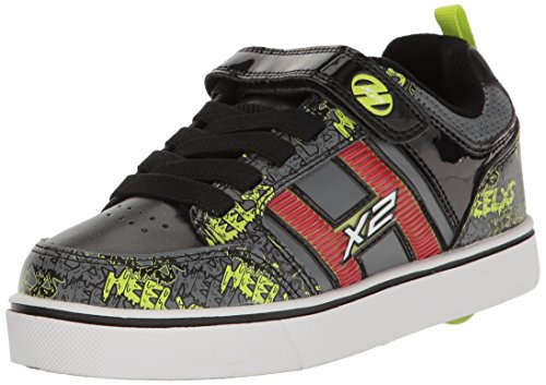 Heelys Kids Bolt Plus x2 Sneaker Black/Grey/Bright Yellow