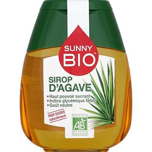 sunny bio Sirop d'agave biologique, Sucre naturel - ( Prix Unitaire ) - Envoi Rapide Et Soignée