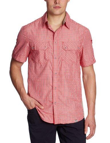 Northland Professional Herren T-Shirt PRO-Dry ALP Ms Check, red, 50/M - Land Check Shirt