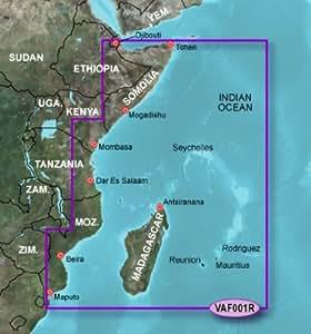 Garmin VAF001R - Afrique de l'Est - Carte SD