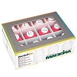 MADEIRA Overlock Garn-Box Sortiert rosa/pink/dunkelblau/3x1000 m/9x1200 m