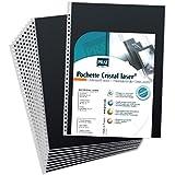 Recharges Polyester 21x30 pour Book à spirales Modebook paquet de 10 pochettes