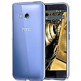 tomaxx–Carcasa HTC U11/Carcasa Case Funda transparente en transparente