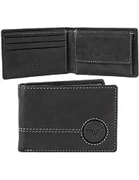 Chiemsee Wetland Porte-monnaie cuir 10 cm noir
