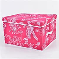 GYMNLJY Grande deposito conveniente Box multiuso pieghevole Storage Box Deposito casella della famiglia Essentials