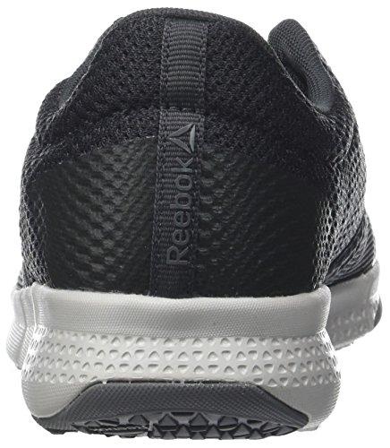 Reebok Damen Flexile Fitnessschuhe Grau (Coalblackskull Greyalloy 0)