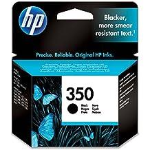 HP 350 - Cartucho de tinta Original HP 350 Negro para HP OfficeJet , HP PhotoSmart