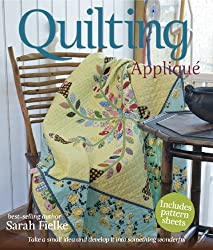 Quilting: Applique with bias strips