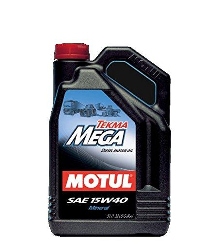 Motoröl MOTUL Tekma Mega 15W40LT. 5Nutzfahrzeuge Mineral Gleitmittel Motor