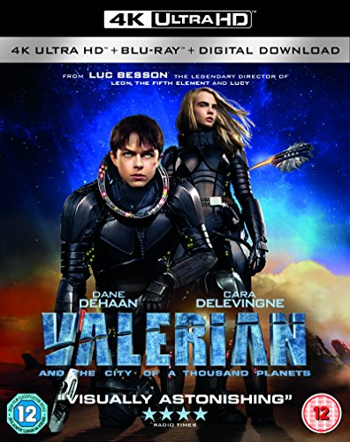 Valerian and the City of A Thousand Planets 4K UHD [2017]