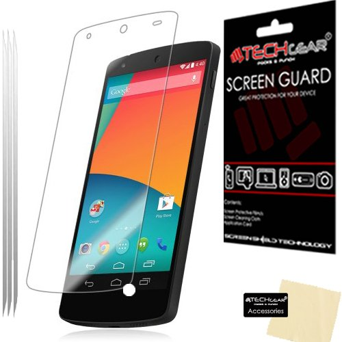 pack-of-3-techgearr-lg-google-nexus-5-clear-lcd-screen-protector-guard-covers-with-cleaning-cloth-ap