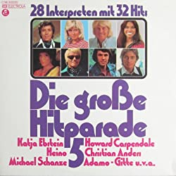 Die große Hitparade 5 - 28 Interpreten mit 32 Hits [Vinyl Doppel-LP] [Schallplatte]