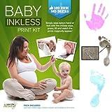 Save The Moment Feuchttuch Hand und Fuß Print Kit mit 1großen beschichtetes Papier (blau)