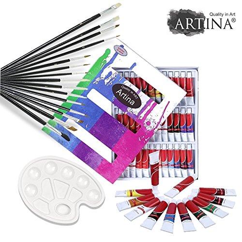 artinar-set-per-dipingere-con-36-colori-a-olio-set-da-15-pennelli-tavolozza-per-artisti-e-amanti-del